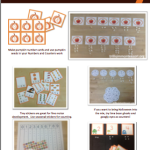 Ideas for Early Math Activities