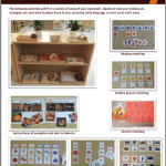 Ideas for Matching and Sorting Activities