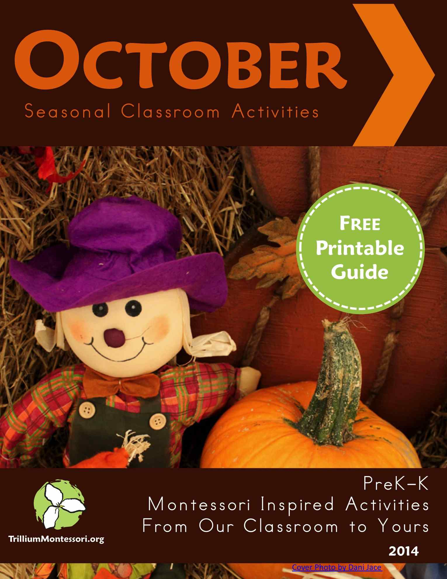 October Montessori Seasonal Guide Cover reduced