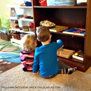Small Space Montessori Setup