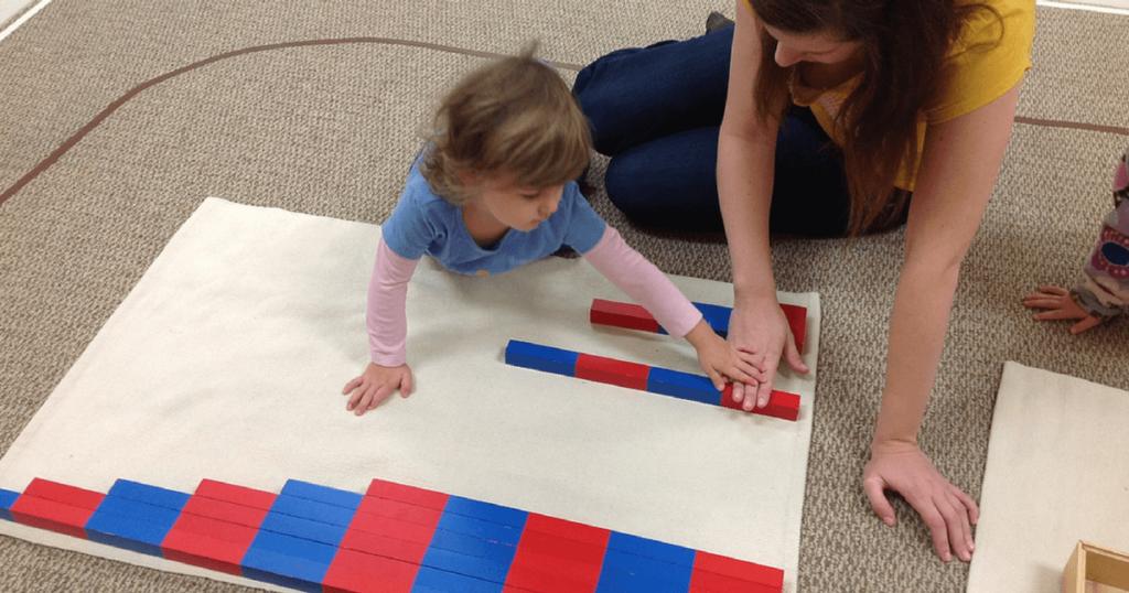 A Montessori Lesson