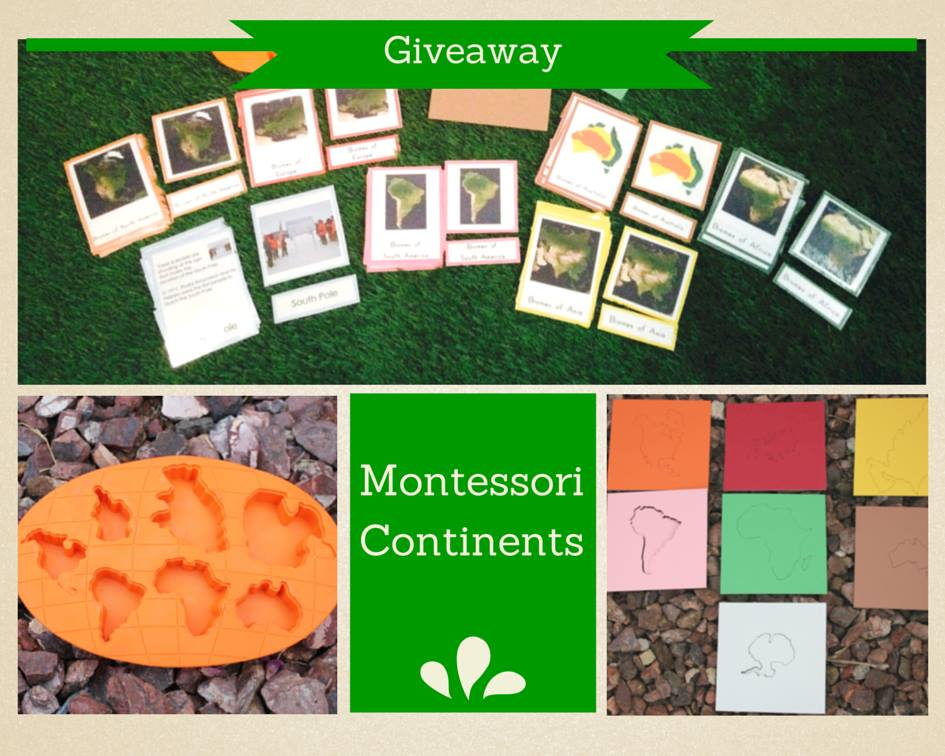 Continent Giveaway