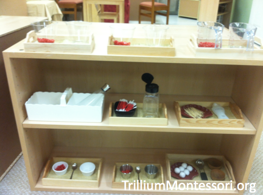 Fine Motor Shelf Red