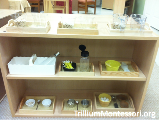 Fine Motor Shelf Yellow
