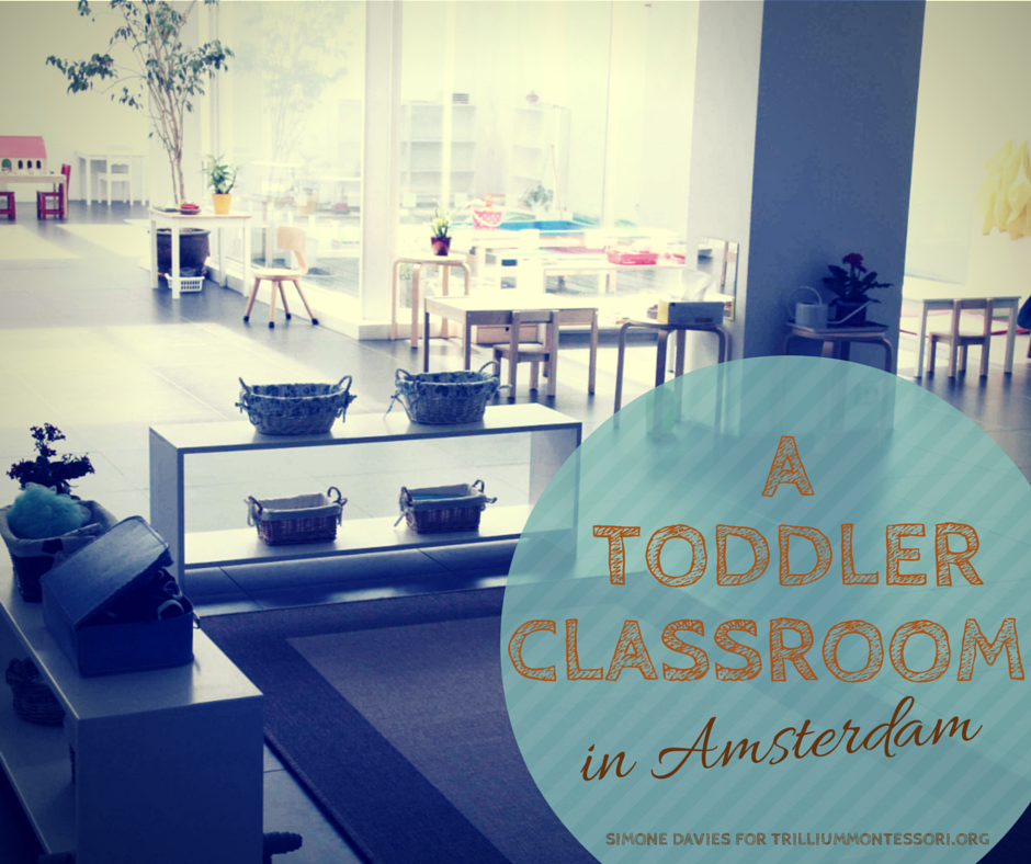 Toddler Classroom Tour in Amsterdam