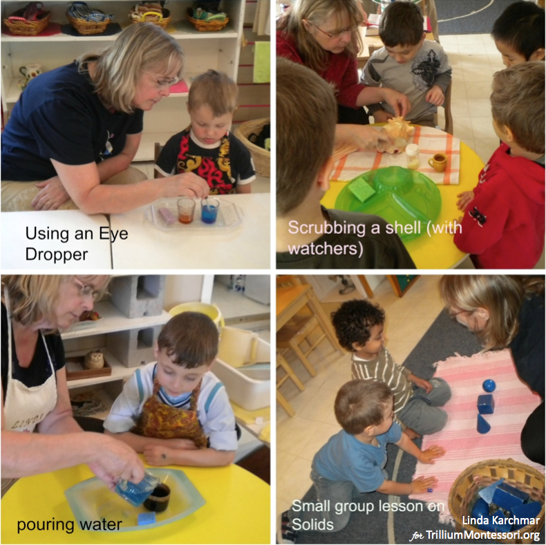 What is a Montessori Lesson by Linda Karchmar