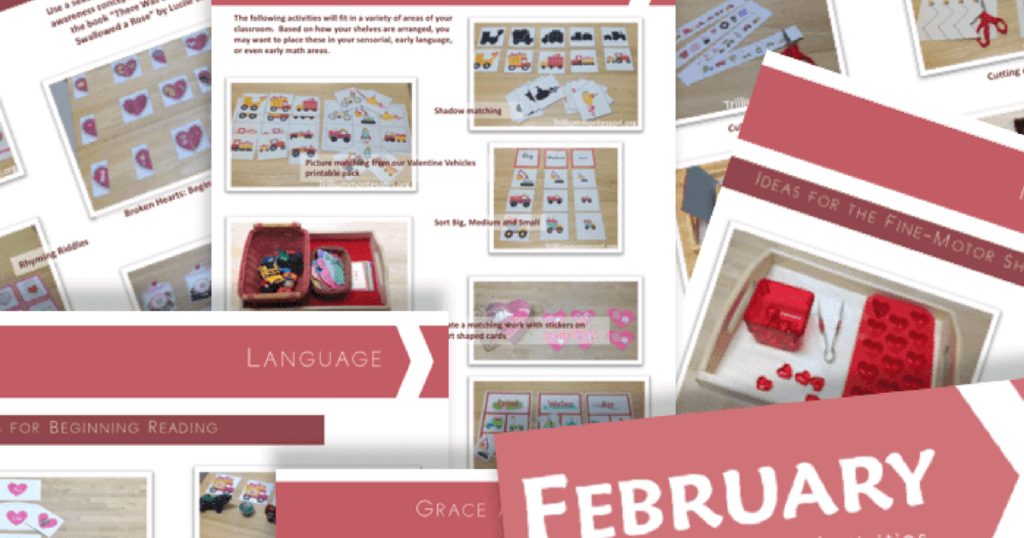 Free Printable: Get Ready for FEBRUARY