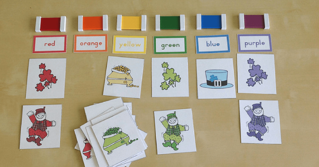 Preschool Printables for March and St. Patrick's Day