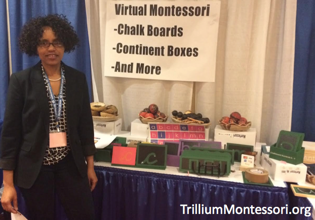 Virtual Montessori at the AMS Montessori Conference in Philapdelphia