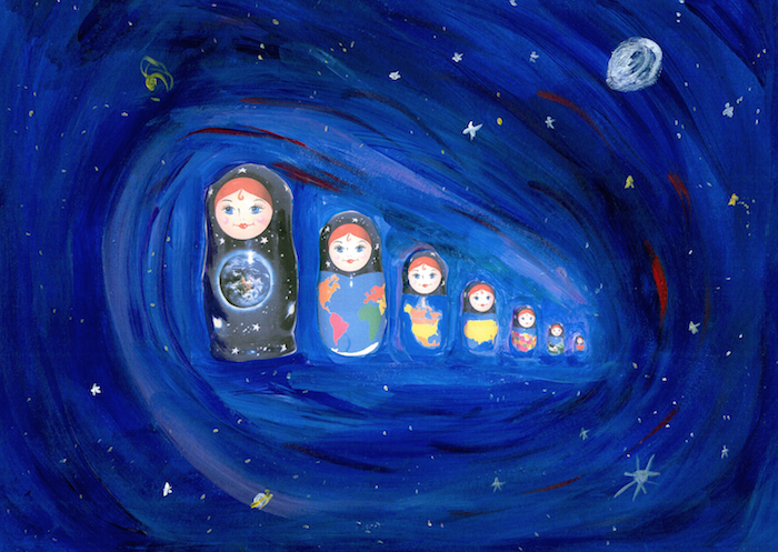 Where am I in the universe cosmic nesting dolls and book