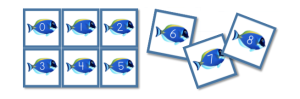 Fish Number Cards