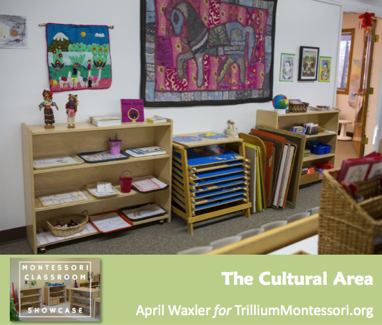 April Waxler Montessori Classroom Shelves Cultural