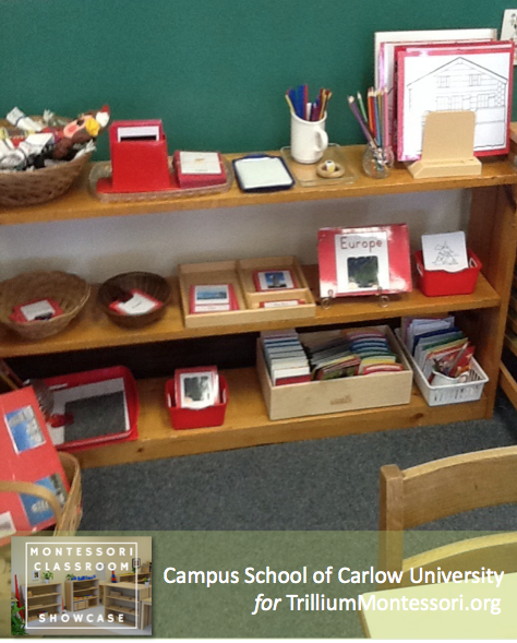 Campus School of Carlow Montessori classroom cultural 2 Europe