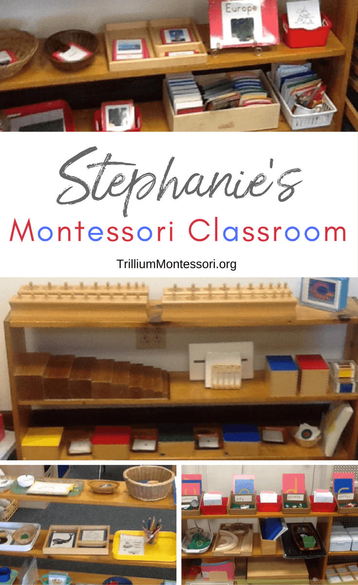 A tour of Stephanie's Montessori classroom