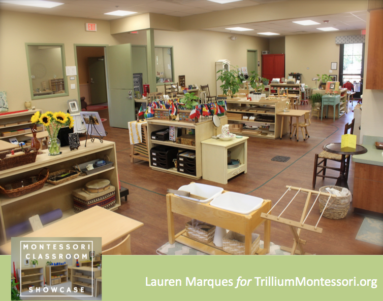 Classroom showcase lauren marques trillium montessori for Raumgestaltung montessori