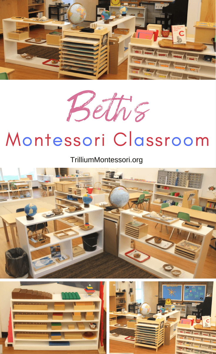A tour of Beth's Montessori classroom