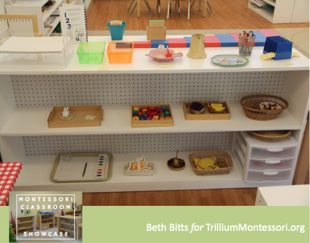 Montessori Classroom Showcase Beth Bitts Art and Sewing