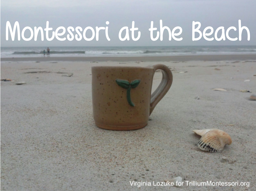 Montessori at the beach