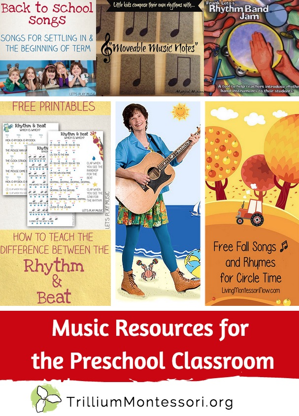 Music Resources for the Preschool Classroom