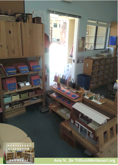 Montessori Classroom Showcase Series Language materials