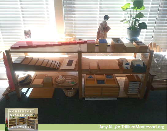 Montessori Classroom Showcase Series Sensorial materials