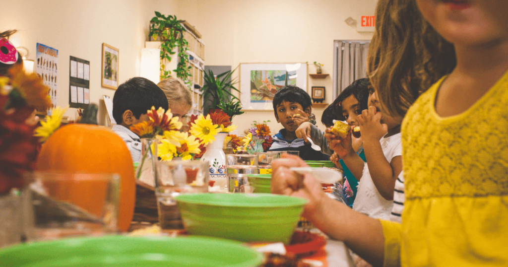 A Montessori Thanksgiving