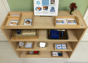 Hanukkah Shelf