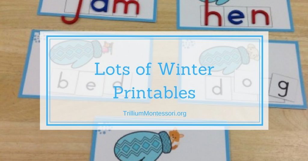 More Winter Printables