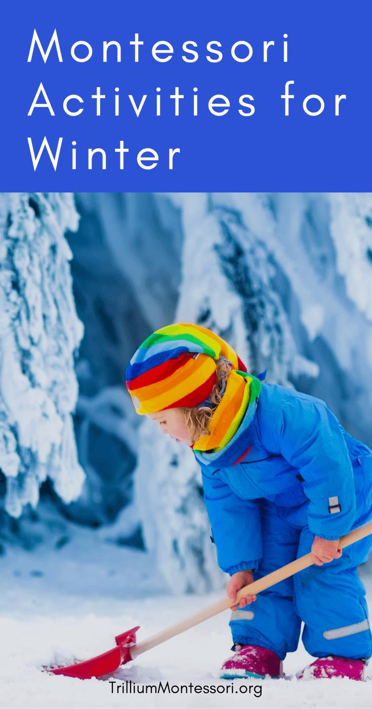 Montessori and Preschool Winter Activities