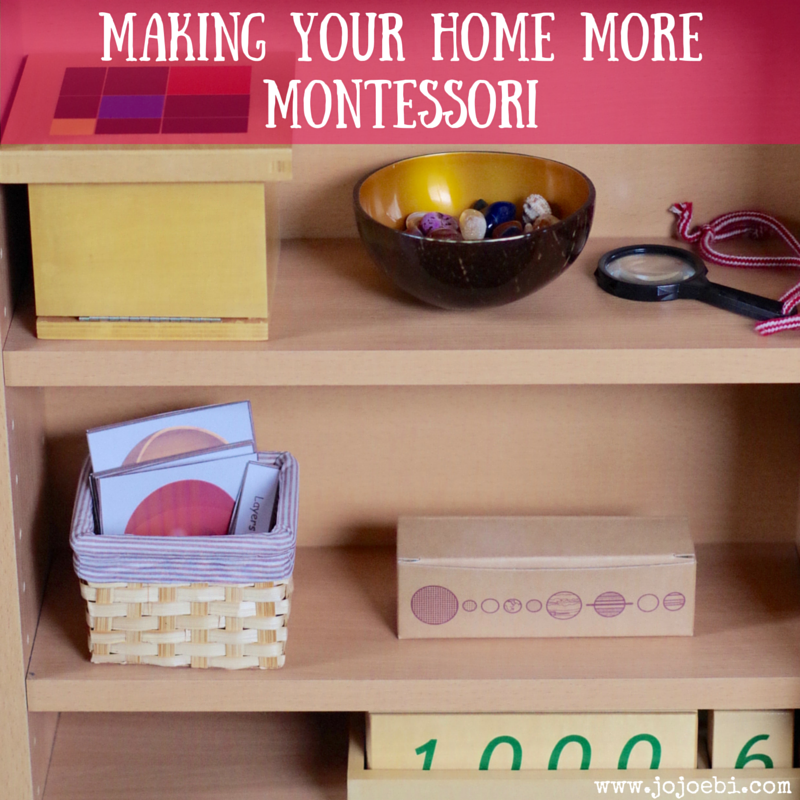 Making Your Home More Montessori 2