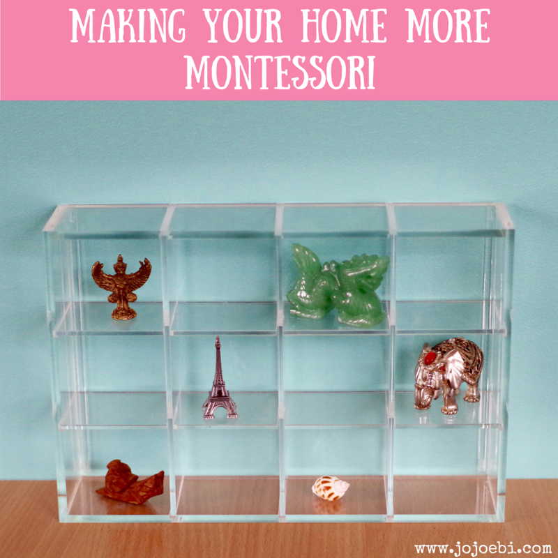 Making Your Home More Montessori 3