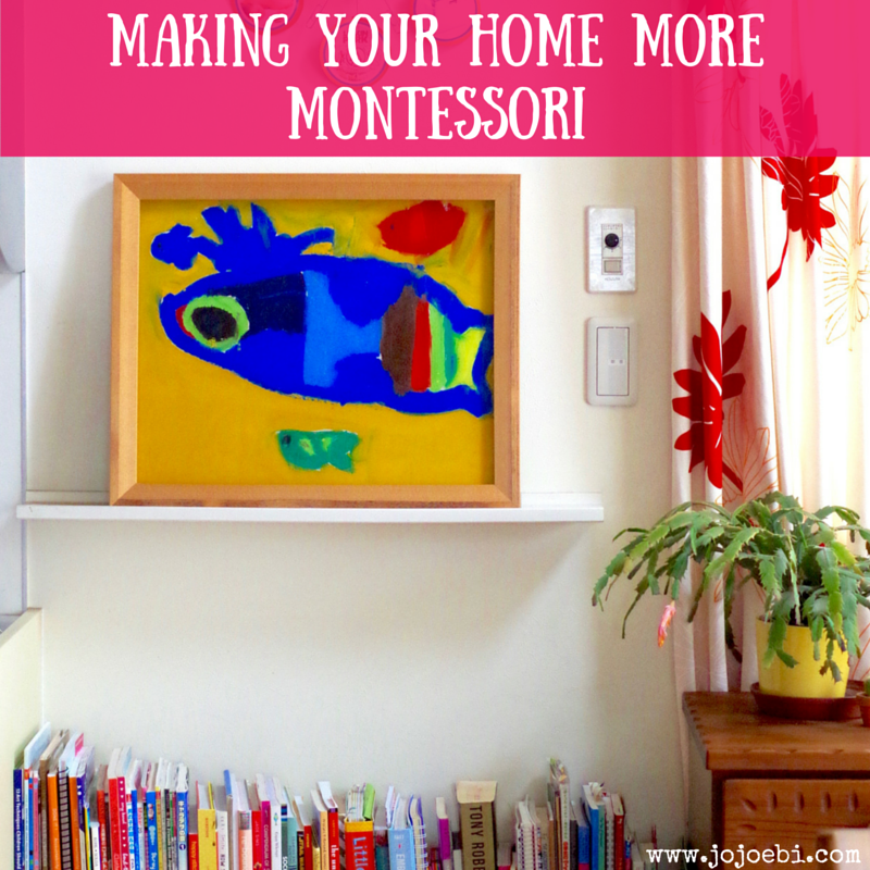 Making Your Home More Montessori 4