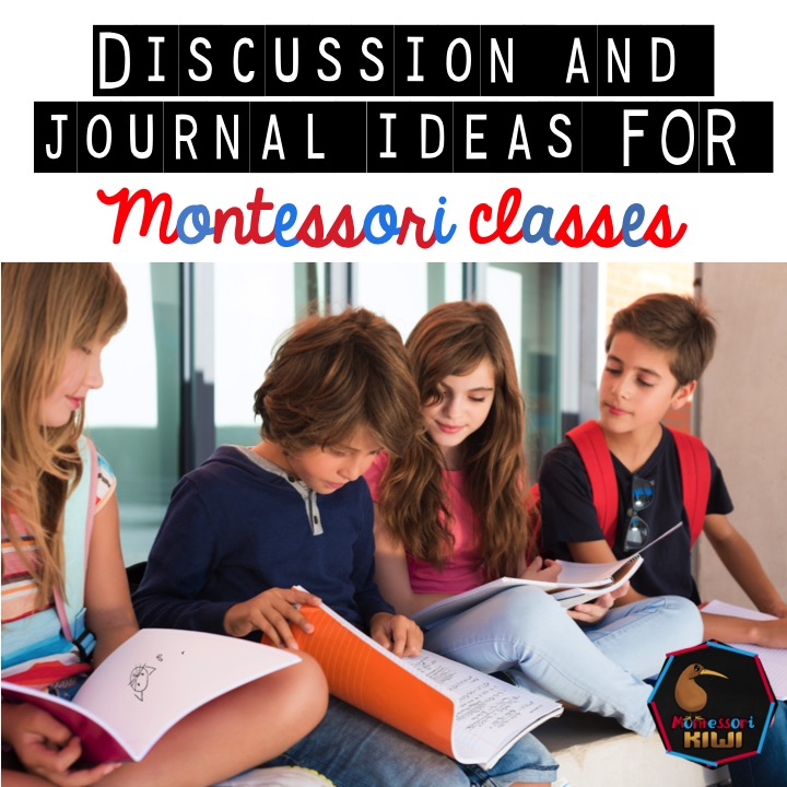 discussion and journal ideas pic
