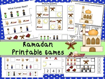 Teach At Daycare Ramadan Pack