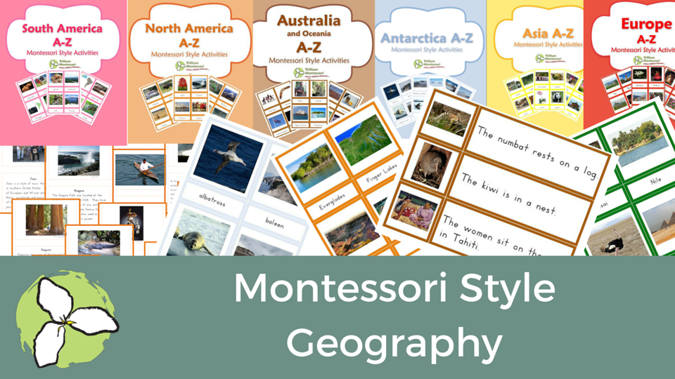 TpT Sale categories- Geography