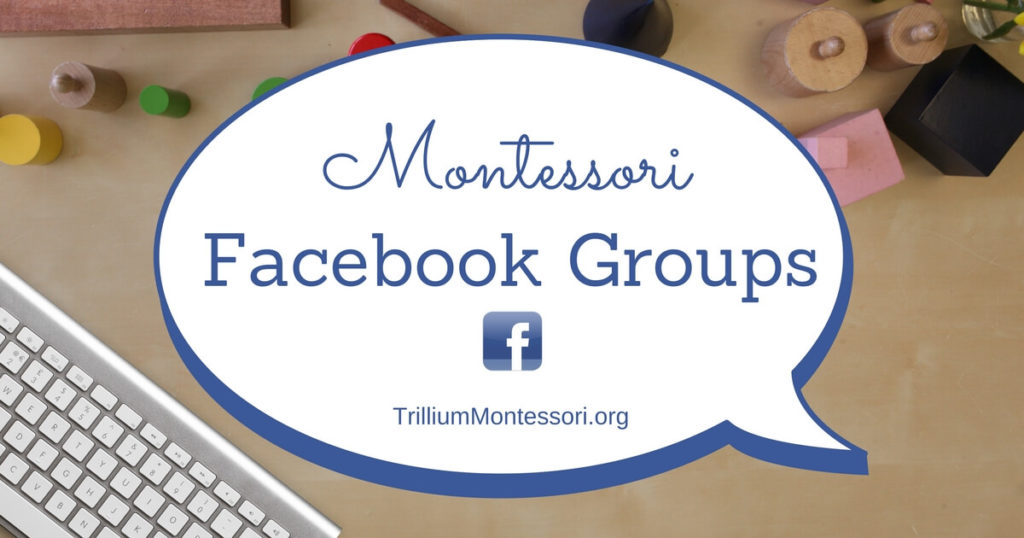 Montessori Facebook Groups