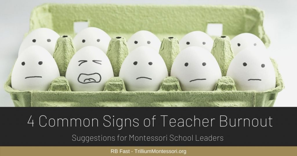 RB 4 common signs of teacher burnout