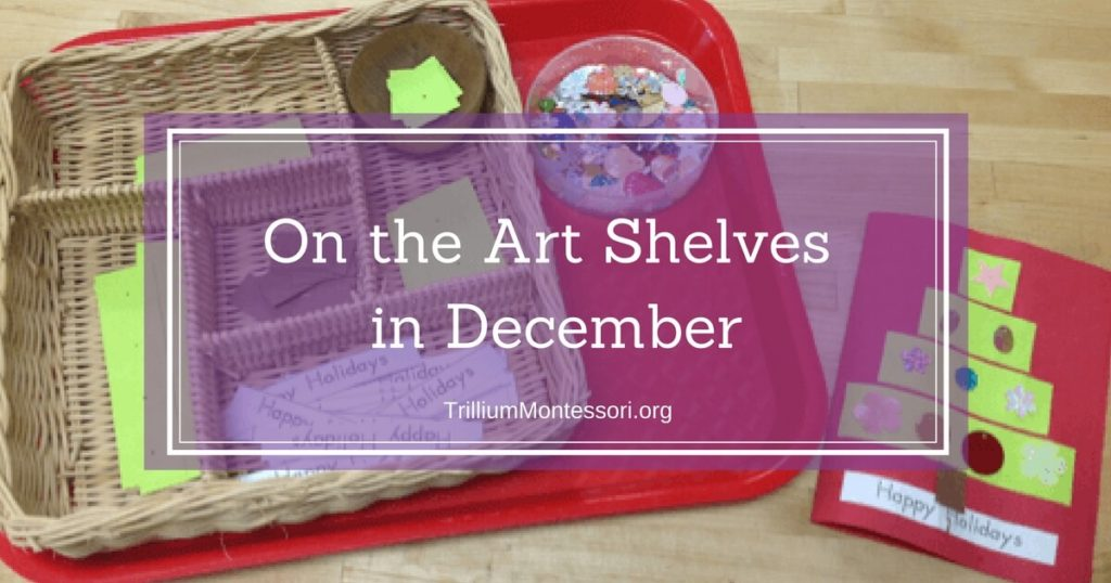 On the Art Shelves in December