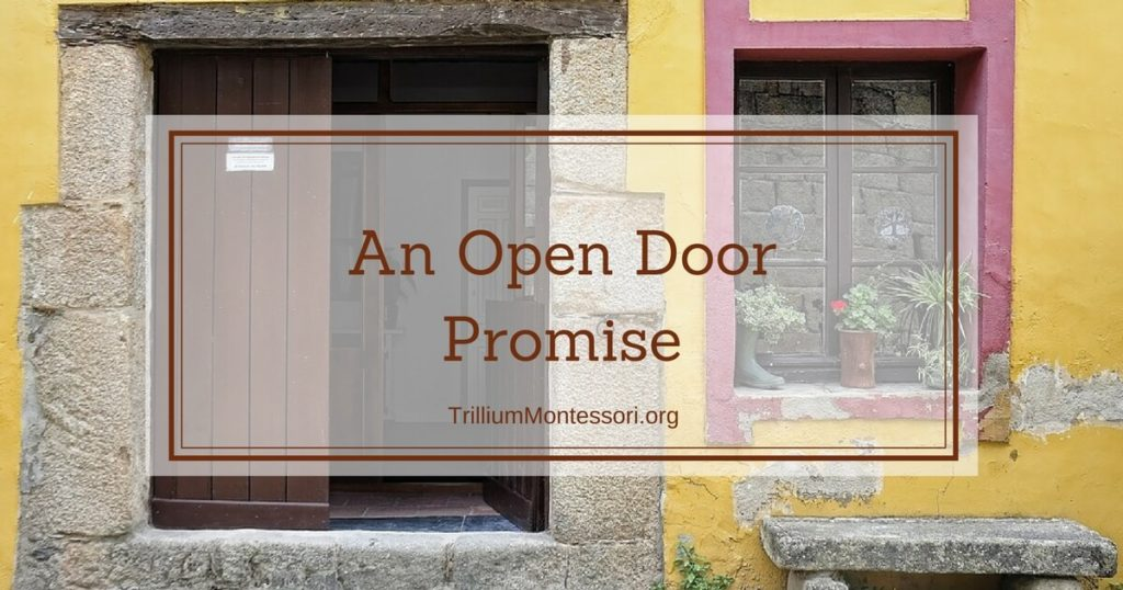 An Open Door Promise