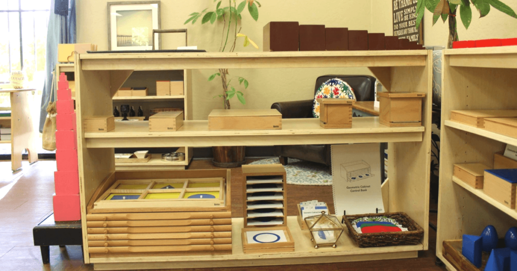 A Tour of Lauren's Classroom: The Sensorial Area