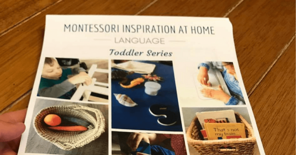 Montessori Language Activities for Home