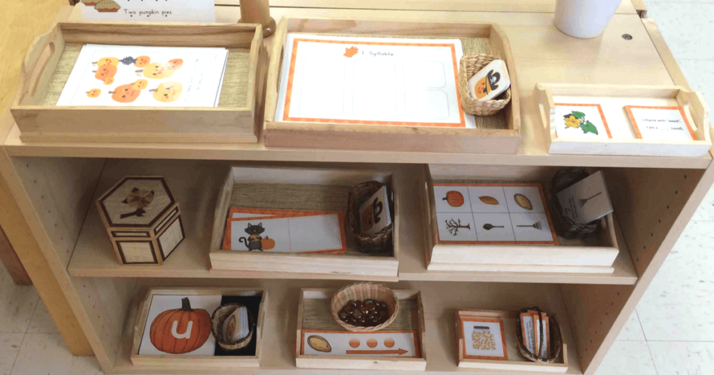 Pumpkin Patch Phonological and Phonemic Awareness