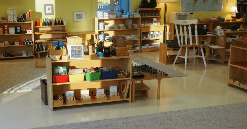 A Tour of Pine Cottage (Montessori Classroom)