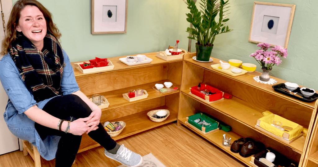 A Tour of Erin's Montessori Classroom Setup at Might Oaks Montessori in Asheville, NC