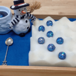 Fine motor activities for a winter theme. Great for preschoolers in January or when you're learning about snowmen and winter.