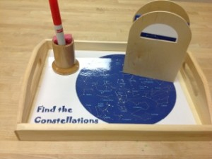 Find the Constellations- Montessori