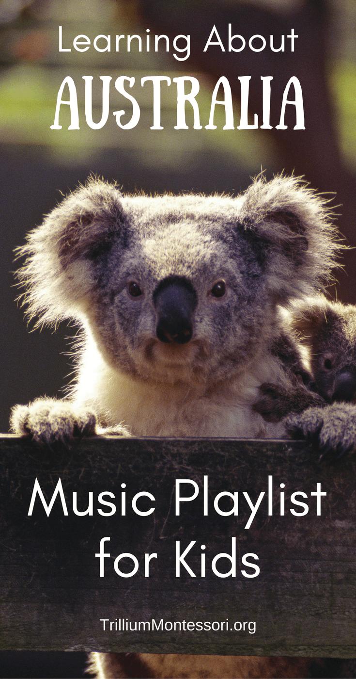 Australia Music Playlist: Children's songs about Australia