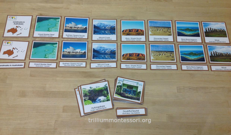 Learning About Australia - Trillium Montessori