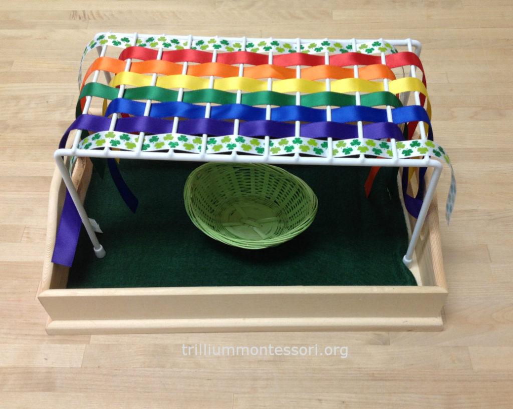 Rainbow Weaving Trillium Montessori