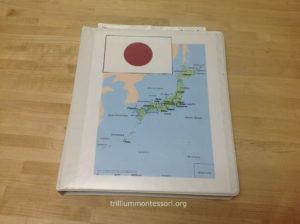 Japan Binder - Trillium Montessori